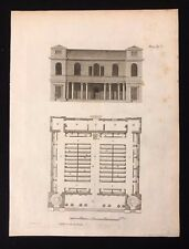 Antico 1800 Print costruttori MAGAZINE protestanti dissidenti RIUNIONE-CASA XCV
