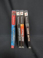 Lot Of 4 Playstation 2 Flight Combat Games TESTED