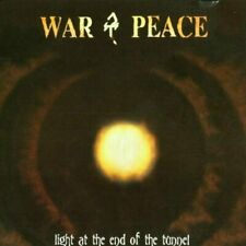 War & Peace Light at the end of the tunnel  [CD]