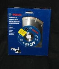 Bosch Vg741 7-Inch x 7/8-Inch Segmented Rim V-Groove Diamond Blade