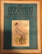 The Australian Museum Magazine 1940 Sep-Nov Vol VII No 6 Issue College St Sydney