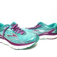 Brooks Transcend 3 Women Blue Athletic Fit Running Shoes Medium (B) Size US 10.5