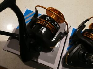2xBrand New smooth Spin Fishing Reel 13 BB HK7000 For $60 freeshipping