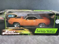 Ertl Racing Champions 1970 Dodge Challenger Fast And Furious 1:18 Diecast Car