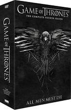 Game Of Thrones All Men Must Die - Season 4 DVD Set of 5 Disc Region 2 English