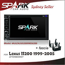 SP CARPLAYER ANDROID AUTO GPS DVD SAT NAV IPOD BT USB FOR LEXUS IS200 1999-2005