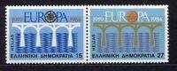 S2392) Greece 1984 MNH New Europa 2v Pair - Pair