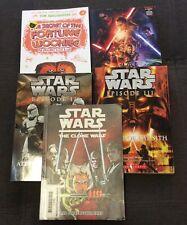 Star Wars Lote De 5 libros de capítulos ar aula educar en casa de lectura de Envío Gratis