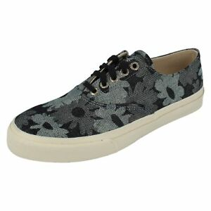 Mens CLOUD CVO JACQUARD Navy Floral lace up shoe By Sperry top sider £9.99