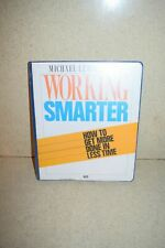^^ WORKING SMARTER HOW TO GET MORE DONE IN LESS TIME MICHAEL LEBOEUF - NEW