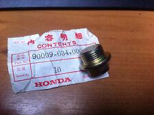GENUINE HONDA  ACCORD  PRELUDE  CIVIC  OIL DRAIN BOLT  20MM   90009-634-000
