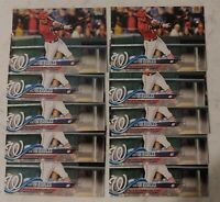 Lot (10) 2018 Topps Series 1 Baseball Victor Robles RCS card #166 qty avail