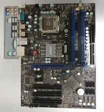 MSI P45T-C51 P45 LGA775 + IO Shield DDR2, Modified, Ready for Xeon E5450