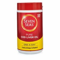 Seven Seas One A Day Pure Cod Liver Oil Capsules 120 Capsules