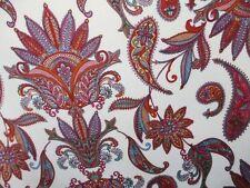 "3 yards 32"" two way stretch spandex lycra fabric paisley print"