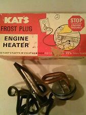 Kats Frost Plug Engine Heater K7 HR  Great for winter start engine faster