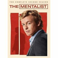 The MENTALIST The COMPLETE 2nd SEASON 2 -- 23 Episodes + Special Features SEALED