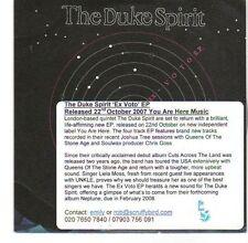 (EA520) The Duke Spirit, Ex Voto EP - 2008 DJ CD