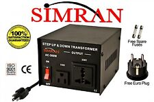Heavy-Duty 300 Watt 110 to 220 Volt Voltage Converter Step Up Down Transformer