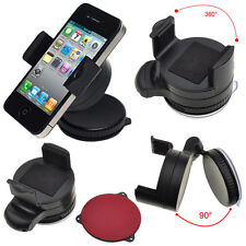Universal 360 Degree Mobile Phone In Car Windscreen Mount Holder Cradle Bracket