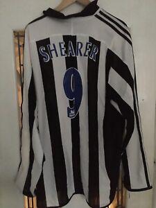 Newcastle United 2003/04 Shearer Shirt - Xxl Northern Rock Vintage Excellent