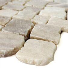 Naturstein Onyx Mosaik Fliesen Cream Poliert   Bad WC Wohn- Badezimmer Dusche
