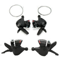 3x8 Speed Shift Lever Shifter Bike Bicycle Parts for Shimano Acera SL-M310 HJW