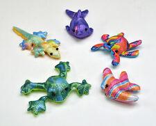 12x Sandtiere Tierfiguren Meerestiere Sandtier Stofftier Mitgebsel 7-11 cm
