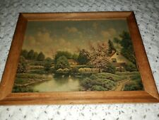 Vintage Plain & Simple Wood Picture Frame 9 x 12 in. No Glass