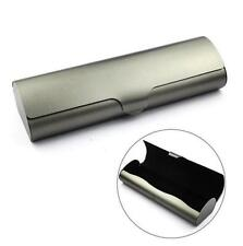 Durable Metal Capsule Flip Glasses Case Eyewear Cases Hard Spectacle Case Box