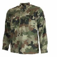 Serbia Latest Serbian M93 camouflage Army Field Shirt, Woodland Camo. Free Ship