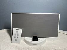 BOSE SoundDock Digital Music System Series I for iPod in White Adapter & Remote