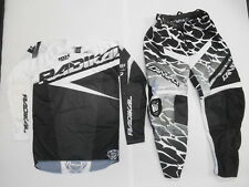 CANVAS MOTOCROSS OFF ROAD DIRTBIKE RIDING GEAR PANTS 32 SMALL SXF SX-F 250 450