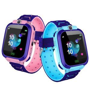 Kinder GPS Smartwatch 4G Telefon Armbanduhr Wasserdicht Videoanruf Kamera SOS DE