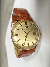 International Watch Company IWC Vintage 9K Gold Automatic Men's Wrist Watch