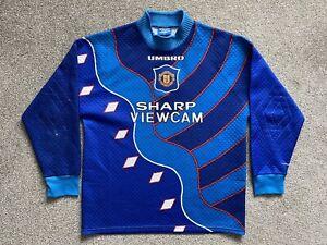 Manchester United Goalkeeper Football Shirt Jersey 1995/96 (M)