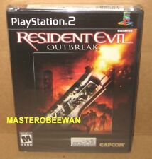 Resident Evil Outbreak PlayStation 2, 2004) PS2 New Sealed Black Label 1st Print