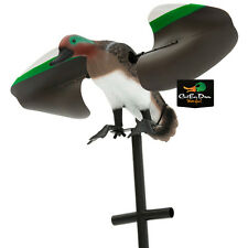 NEW LUCKY DUCK LUCKY TEAL SPINNING WING MOTION DECOY GREEN WINGED REMOTE READY