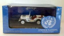 Véhicules miniatures blancs pour Jeep 1:43