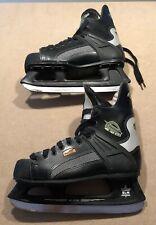 CCM Edge 4.1 Kinetik Profile Senior Hockey Skates Size 10.5 SL-2500 Canada VG!