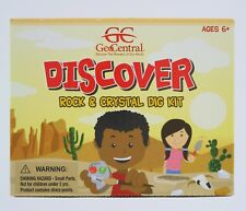 GeoCentral Discover Rock & Crystal Excavation Dig Kit Geology Science Learning