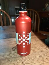 Sigg 32 oz Red Aluminum Water Bottle
