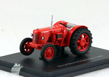 David Brown Cropmaster 1949 rot Traktor 1:43 Hachette/UH Modellauto