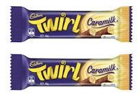 LIMITED EDITION: 24x FULL BOX TWIRL CARAMILK CHOCOLATE BAR 39g
