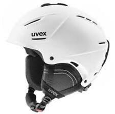 "UVEX ""P1US 2.0"" LIGHTWEIGHT PROTECTIVE SKI HELMET (WHITE MAT) L/XL 59-62CM"