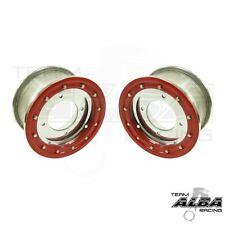 YFZ 450 YFZ 450R  Front Wheels  Beadlock 10x5  4+1  4/156  Alba Racing  slvr/red