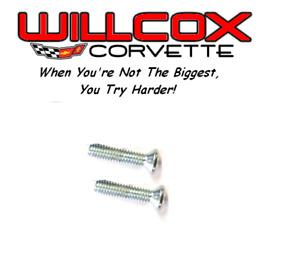 Corvette Outside Mirror mounting screws 1963-1979 2 pc 1015007