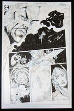 ESZ3027 Original Art for Sinestro #7 Page 5 by Ethan Van Sciver DC Comics (2014) Comic Art
