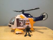 Fisher Price Imaginext RESCUE HELICOPTER 2007 Mattel Hand Held Toy