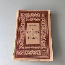 1924#  GOETHE VIAGGIO IN ITALIA# VALLARDI